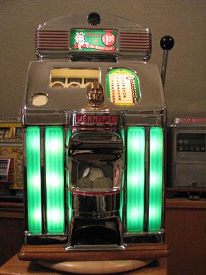 How to Unjam a Jennings Antique Slot.
